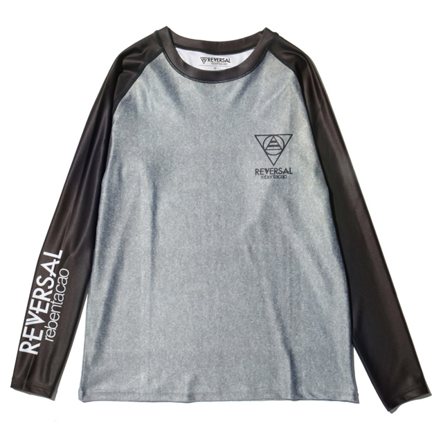 RVRB RAGLAN LONG SLEEVE RASH GUARD