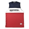 SWITCH COLOR MESH JERSEY SLEEVELESS