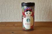 【予約販売】ロシア/モスクワ限定!Starbucks スターバックス マトリョーシカタンブラー Mサイズ(トール) 12oz, 355ml