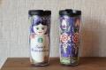 ロシア/サンクトペテルブルグ限定!Starbucks スターバックス マトリョーシカタンブラー<青> 12oz, 355ml(トール)