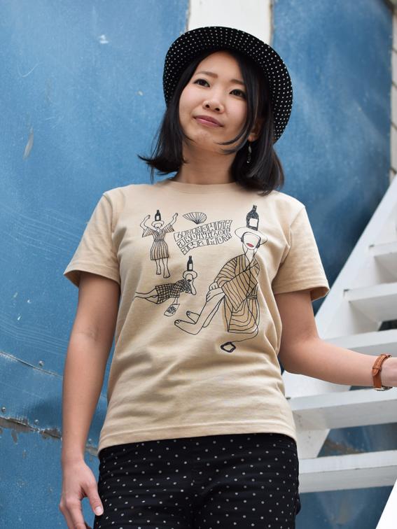 沖縄Tシャツ 泡盛ガールズ