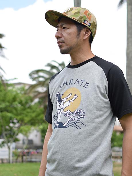 沖縄Tシャツ KARATE