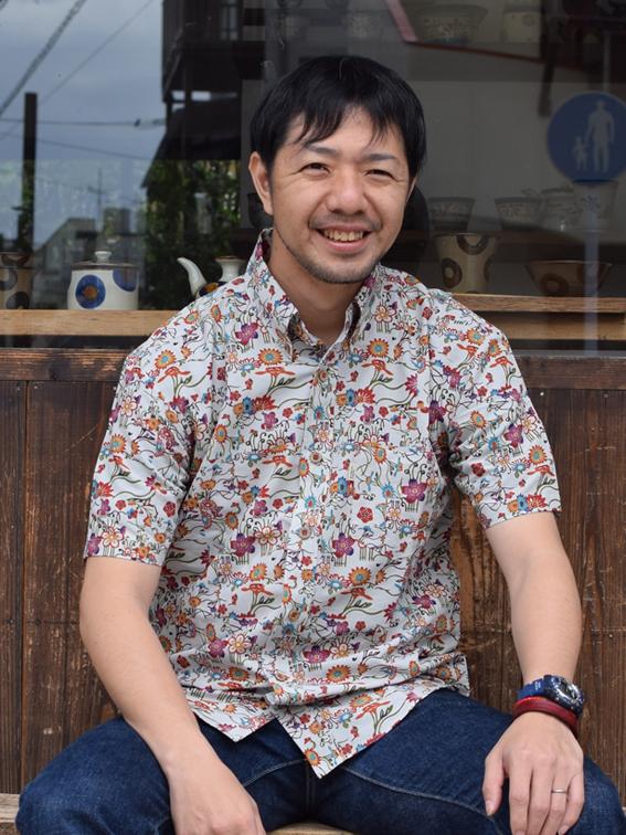 琉球ボタンダウンシャツ okinawa dye work