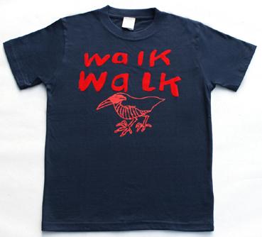 walk walk クイナTシャツ ヤンバルクイナ