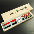 【輪島塗箸】夫婦箸・月うさぎ蒔絵