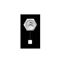 シトロエン DS3純正アクセサリー エアーバルブキャップ ブラン バンキーズ