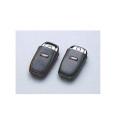 Audi純正 アウディ アドバンスドキーレザーカバー Sバッジスプラッシュシルバーステッチ J0AXA1R01SSL A4 A5 A6 Q5 / a03731882