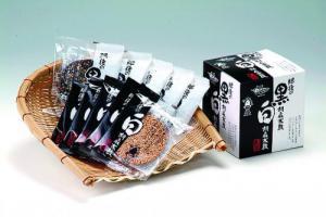 ●胡麻太鼓(白5枚・黒5枚) 発売以来大人気!手作りの胡麻せんべい★送料別★