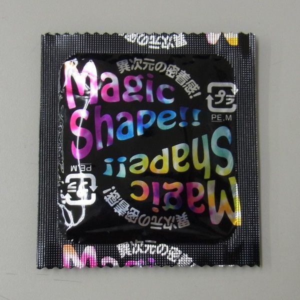 マジックシェイプコンドームテープデザイン
