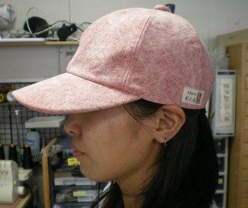 帆布帽子キャップ [尾道 帆布鞄 彩工房]