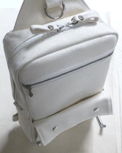 男の帆布ボディバッグ BD1