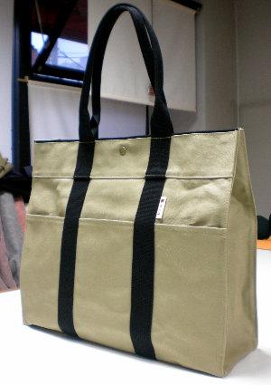 BEL(A3対応トート) ビジネスバッグや小旅行に最適な帆布バッグ [尾道 帆布鞄 彩工房]