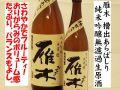 雁木 槽出あらばしり 純米吟醸無濾過生原酒 日本酒通販 日本酒ショップくるみや
