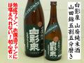 白影泉 山廃純米酒 山田錦五割五分磨き 熟成古酒17BY 日本酒通販 日本酒ショップくるみや