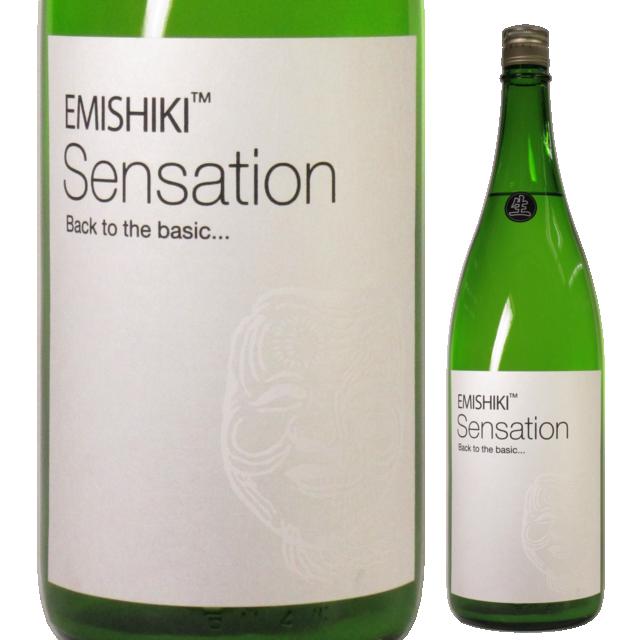 【日本酒】笑四季 特別純米 白ラベルおりがらみ生酒「Sensation 4 White」-Early Winter Edition- 【28BY】