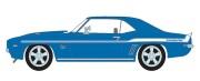 予約品 10月頃 ミニカー GreenLight(グリーンライト)  1/18 18001 Highway61 映画「ワイルドスピード」  2 Fast 2 Furious (2003)  1969 Chevrolet Yenko Camaro  812982028398