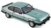 予約品 12月〜2018年1月頃 ミニカー ノレブ NOREV 1/18 182719 フォード カプリ Mk.III 2.8 Injection 1982  クリスタルメタリックグリーン 3551091827191