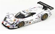 予約品 2017年4月以降 再発売 ミニカー SPARK(スパーク)  レジンモデル 1/18 18LM98 ポルシェ 911 GT1 No.26 優勝 Le mans 1998 A. McNish-L. Aiello-S. Ortelli 9580006440983