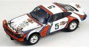 予約品 2017年4月以降 再発売 ミニカー SPARK(スパーク)  レジンモデル 1/18 18S026 ポルシェ 911 SC 3.0 No.5 南アフリカ サファリ ラリー 1978 B. Waldegaard - H. Thorszelius 9580006918260