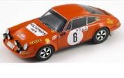 予約品 2017年4月以降 再発売 ミニカー SPARK(スパーク)  レジンモデル 1/18 18S029 ポルシェ 911 S No. 6 優勝 モンテカル ロラリー 1970 B. Waldegaard - L. Helmer 9580006918291
