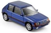 予約品 7月〜9月頃 ミニカー ノレブ NOREV 1/64 310504 プジョー 205 GTi 1988 メタリックブルー 3551093105044