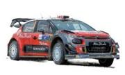 """予約品 12月〜2018年1月頃 ミニカー ノレブ NOREV 1/64 310608 シトロエン C3 WRC  """"Rallye du Mexique 2017"""" 3551093106089"""