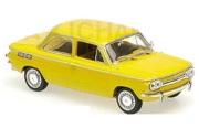 予約品 2017年順次 ミニカー MAXICHAMPS(マキシチャンプス) 1/43 940015301 NSU TT (1967) イエロー