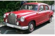 予約品 2017年順次 ミニカー MAXICHAMPS(マキシチャンプス) 1/43 940033101 メルセデス ベンツ 180 (W120) 1955 ダークレッド