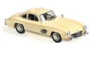 予約品 2017年順次 ミニカー MAXICHAMPS(マキシチャンプス) 1/43 940039002 メルセデス ベンツ 300 SL (W198 I) 1955 クリーム