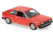 予約品 2017年順次 ミニカー MAXICHAMPS(マキシチャンプス) 1/43 940050422 フォルクスワーゲン シロッコ (1974) レッド
