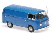 予約品 2017年順次 ミニカー MAXICHAMPS(マキシチャンプス) 1/43 940053061 フォルクスワーゲン T2 デリバリーバン (1972) ブルー