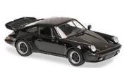 予約品 2017年順次 ミニカー MAXICHAMPS(マキシチャンプス) 1/43 940069000 ポルシェ 911 ターボ 3.3 (930) 1979 ブラック