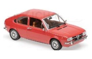 予約品 2017年順次 ミニカー MAXICHAMPS(マキシチャンプス) 1/43 940120100 アルファ ロメオ アルファスッド (1972) レッド