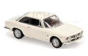 予約品 2017年順次 ミニカー MAXICHAMPS(マキシチャンプス) 1/43 940120441 アルファ ロメオ ジュリエッタ スプリント GTA (1965) ホワイト