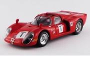 予約品 3月頃 ミニカー BEST MODEL(ベストモデル) 1/43 BEST9647 アルファロメオ 33.2 ル・マン テスト 1968  Bianchi/Zeccoli/Grosselin/Trosch 8013717964703