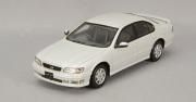 予約品 9月頃 ミニカー KIDBOX特注 CAM@ レジンモデル 1/43 C43062 日産 セフィーロ (A32) 30S ツーリング 1994年型 プラチナホワイトパール 4582224940806