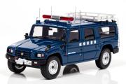 予約品 2016年2月頃 ミニカー レイズ RAI'S 1/43 H7439601 トヨタ メガクルーザー 1996 岐阜県警察警備部機動隊災害用高性能機動力車両 限定500台 4580198721285