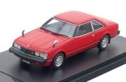 予約品 7月頃 ミニカー ハイストーリー Hi-Story レジンモデル 1/43 HS180RE トヨタセリカ Toyota CELICA 2000GT COUPE (1979) バーニングレッド 4523231437750