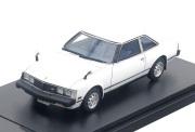 予約品 7月頃 ミニカー ハイストーリー Hi-Story レジンモデル 1/43 HS180WH トヨタセリカ Toyota CELICA 2000GT COUPE (1979) ピュアーホワイト 4523231437743