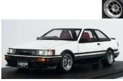 予約品 9月頃 ミニカー ignition model(イグニッションモデル) 1/18 IG0553 Toyota Corolla Levin(AE86) 2Dr GT Apex White /Black 生産数:160pcs 4571477905533