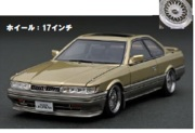 予約品 10月頃 ミニカー ignition model(イグニッションモデル) 1/18 IG1012 Nissan Leopard 3.0 Ultima (F31) Gold  生産数:180pcs 4573448880122