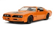 予約品 2020年2月頃 ミニカー ジャダトイズ JADATOYS 1/24 JAM31601 BIGTIME MUSCLE1977 PONTIAC FIREBIRD M ORANGE 801310316016