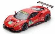 予約品 7月頃 ミニカー LOOKSMART(ルックスマート) レジンモデル 1/18 LS18LM011 フェラーリ 488 GTE No.82 LM GTE Pro 24h Le Mans 2016 G. Fisichella T. Vilander M. Malucelli 9580006150141