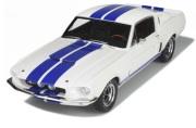 予約品 2017年3月頃 ミニカー OttO mobile(オットーモビル) レジンモデル(開閉機構なし) 1/12 OTMG022 フォード マスタング シェルビー GT500(ホワイト/ブルーライン) 限定999台
