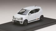予約品 9月以降 ミニカー MARK43 レジンモデル 1/43 PM4360WW スズキ アルト ワークス (HA36S) パールホワイト 4981932045481