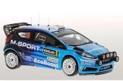 予約品 2017年 ミニカー イクソモデル ixo 1/43 RAM622 フォード フィエスタ RS WRC 2016年モンテカルロラリー #5 Mads Ostberg/Jonas Andersson  ライトポット