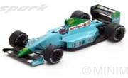予約品 4月頃 ミニカー SPARK(スパーク)  レジンモデル 1/43 S2979 レイトンハウス CG901 No.16 2位 French GP 1990  Ivan Capelli 9580006929792