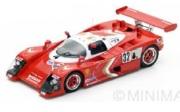 予約品 4月頃 ミニカー SPARK(スパーク)  レジンモデル 1/43 S4730 ニッサン R88 S No.32 Le Mans 1989  A. Olofsson - T. Wada - A. Morimoto 9580006947307