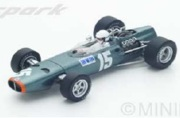 予約品 5月頃 ミニカー SPARK(スパーク)  レジンモデル 1/43 S4795 BRM P61/2 No.15 7位 British GP 1967  Chris Irwin 9580006947956