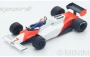 予約品 4月頃 ミニカー SPARK(スパーク)  レジンモデル 1/43 S4841 マクラーレン MP4-1C No.7 5位 German GP 1983  John Watson 9580006948410